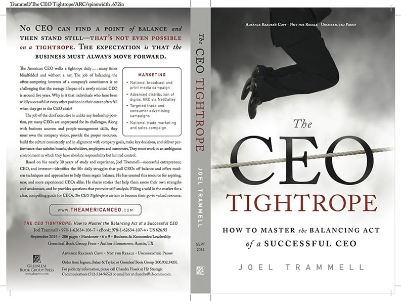The CEO Tightrope Is Real
