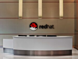 Red Hat Main Lobby, image courtesy of Red Hat